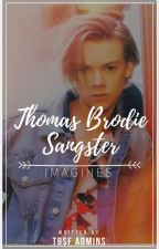 Thomas Brodie Sangster Imagines by ThomasBSangsterFans
