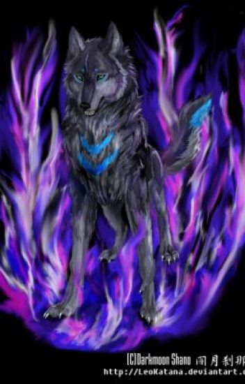 the wolf with purple flames ( a blue exorcist fanfic)