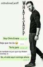 WhatsApp   Chris Evans   #Wattys2016 by m0nshine