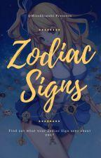 Zodiac Signs! by MissShinobi