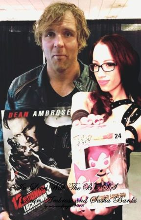 Sasha Banks Wedding.In Love With The Boss Dean Ambrose And Sasha Banks Love Story