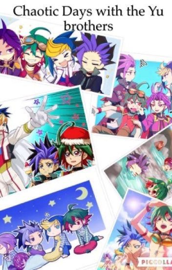Yugioh ARC V - Chaotic Days with the Yu brothers