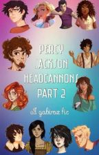 Percy Jackson Headcannons (part 2) by Gabirox