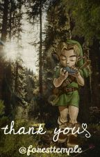Thank You (Link x Reader One Shot) by ForestTemple