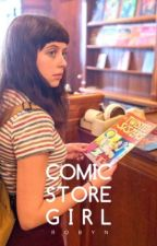 Comic Store Girl  by heroicaly