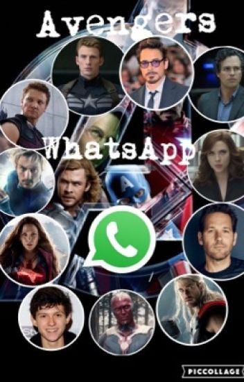 Avengers en WhatsApp