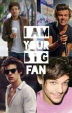 I'm Your Big Fan- Larry Fanfiction [ZAWIESZONE] by xxJustMeBitchxx