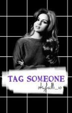 منشن شخص / tag someone  by skyfall1_10