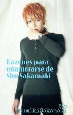 Razones Para Enamorarse De Shu Sakamaki by TsumikiSakamaki