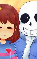 Under tale Frisk X Sans by CiaraWilson5