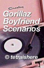 Gorillaz boyfriend senarios by Carebear174