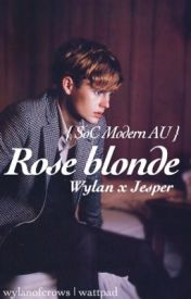 Rose blonde ー Wylan x Jesper { SoC Modern AU } by wylanofcrows
