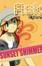 Ask Sunset Shimmer by Giginany_Pie