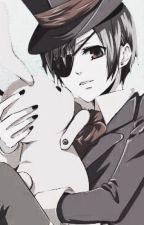 (Ciel x neko reader) My little kitten by Blazingfoxpeach