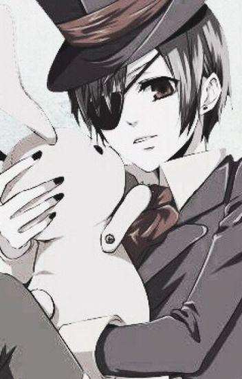 (Ciel x neko reader) My little kitten