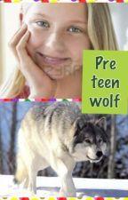 Pre teen wolf by AthenaMerrick