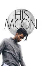 His Moon by monochromemonotone
