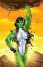 She-Hulk(bruce Loves Story) by JewelDeberry