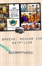 Mythology Mix Up ( Headcannons, jokes, pickup lines, stories and more...) by rainbowpages21