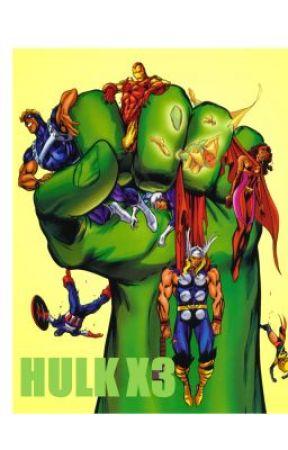 Hulk X3 by Jedpool