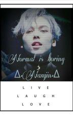 •Normal is Boring.• ~Namjin~ by sophiamazzolin