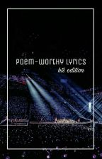 poem-worthy lyrics (bts edition) by chraoltet