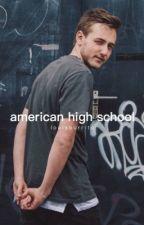 american high school ; jf by louisburrito