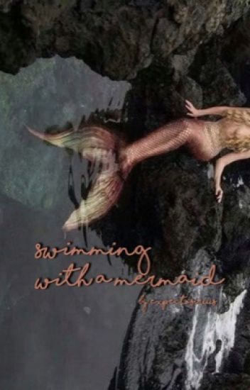 swimming with a mermaid; s. black