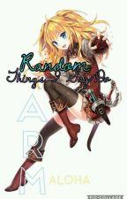Random Survival Book by Autumn_Gamer