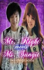 Mr. Right meets Ms. Sungit by purple_star