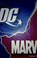 Marvel & DC ONE SHOOTS by MaguiGarza