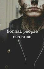 Нормальные люди меня пугают. by Nyschka666