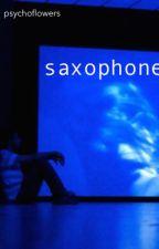 saxophone by psychoflowers