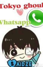 Tokyo Ghoul Whatsapp by saidze