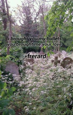 I brought you my bullets, you brought me your love »frerard  by setfiretothestars