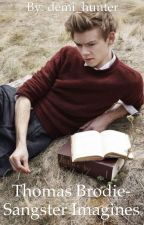 Thomas Sangster Imagines by demi_hunter