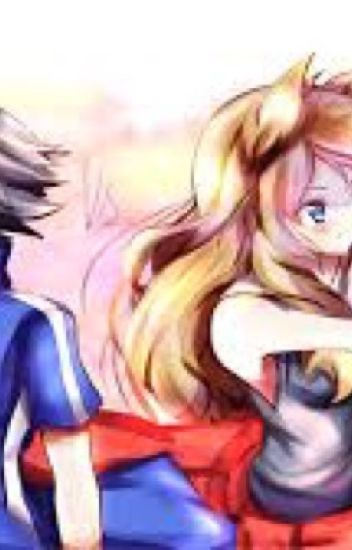 Ash y Serena Amourshipping