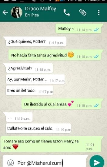 WhatsApp »Drarry«