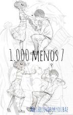 1000 menos 7 |RDG|A.U by alltheloveforyoubae