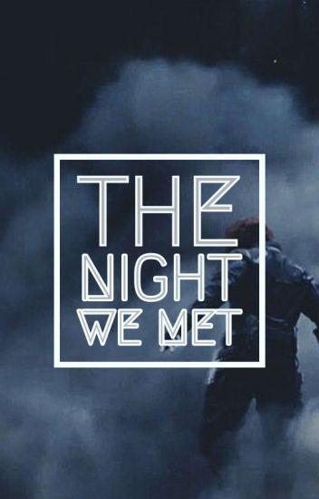 The Night We Met    Bucky Barnes ff