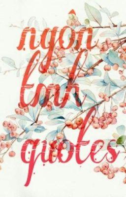 Ngôn Tình Quotes