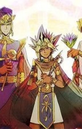 Atem x ReaderCurator or Queen? by SnowflakeDragon18