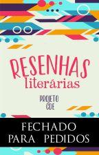 CDE - Resenhas Literárias by ClubedoEscritor