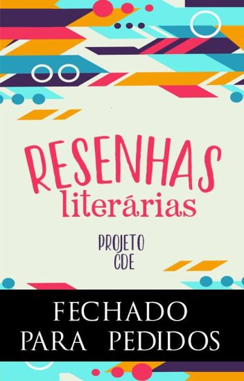 CDE - Resenhas Literárias
