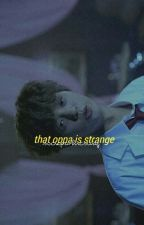 that oppa is strange | taegi by sociopathicswag