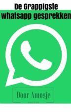 Grappige whatsapp gesprekken :p by Amosje
