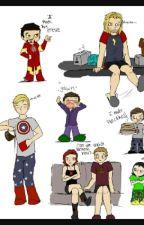 Avengers - Šílené textovky by SmilingKarel