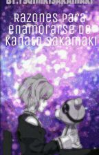 Razones Para Enamorarse De Kanato Sakamaki by TsumikiSakamaki