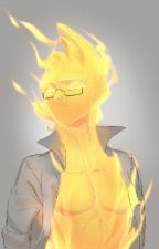 The Fiery Handsome Monster (Grillby X Reader) by YearQueen2000