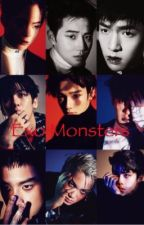 Exo Monsters by nuest_exo_bts1